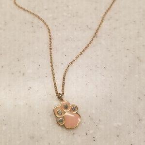 Jewelry - Pink Paw Necklace